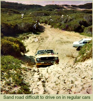 Difficult sand roads