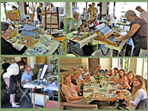 Discover Sedgefield - First Workshop at Zanne's Small Studio