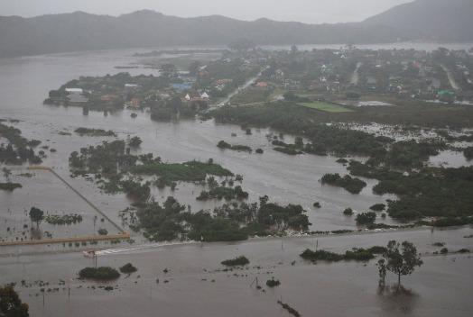 2007 Sedgefield under water