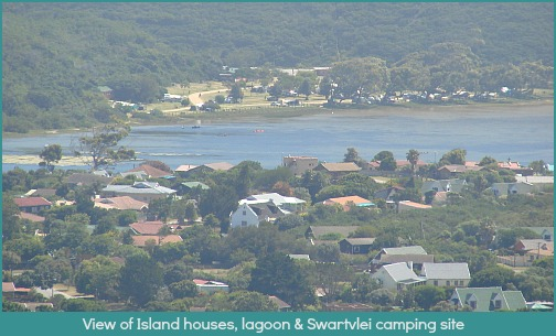 Island Lagoon and Swartvlei campsit