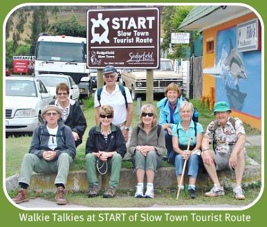 Walkie Talkie group at the start