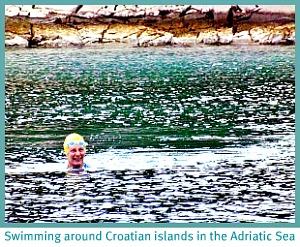 Sheila in the Adriatic Sea