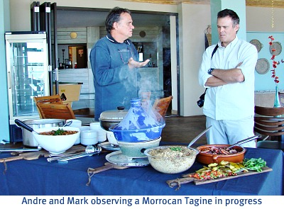Discussion over the Tagine