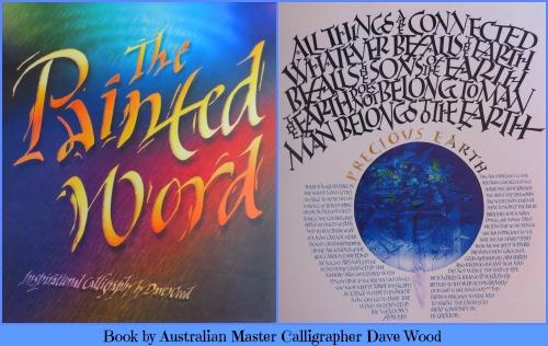 David Wood's Calligraphy book