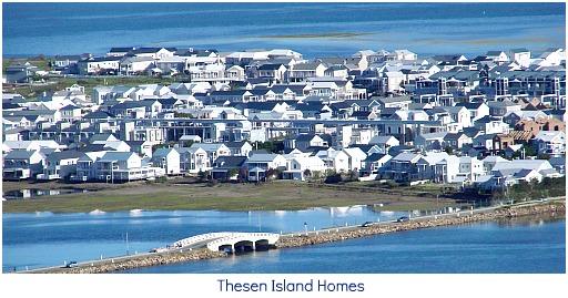 Thesen Island homes