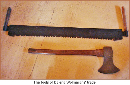 Dalena's tools of the trade