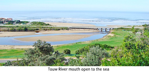 Touw River mouth