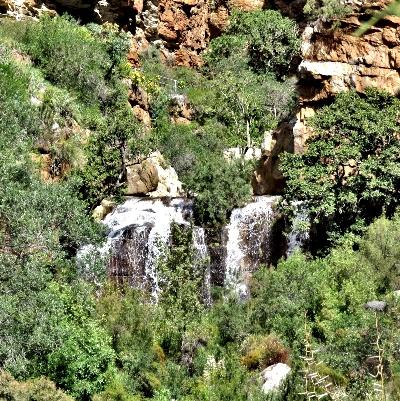 Waterfalls in Meiringspoort