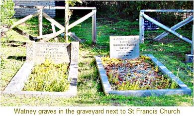 Watney couple gravesite
