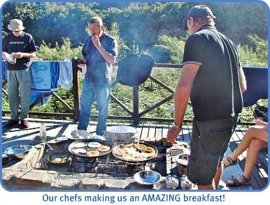 Whiskey Creek breakfast