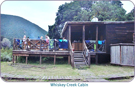 Cabin at Whiskey Creek