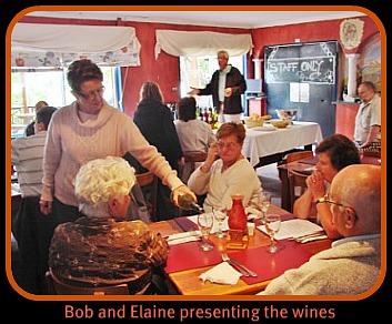 Wine Tasting with Bob & Elaine Dudley