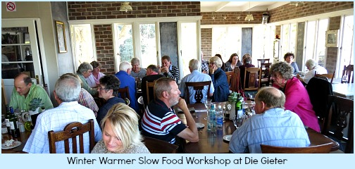 Winter warmer workshop attendees