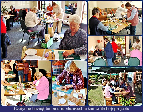 Calligraphy Workshop Collage