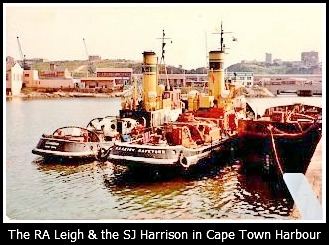 RA Leigh and SJ Harrison