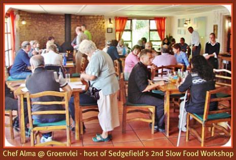 Slow Food Workshop at Chef Alma Restaurant