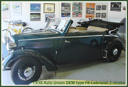 Auto Union 1938  DKW type F8 Cabriolet
