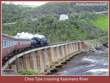 Choo Tjoe crossing Kaaimans River