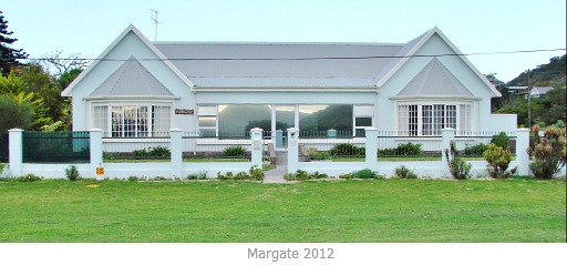 The new Margate house
