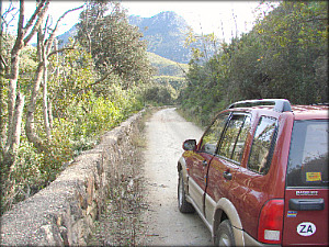 Montagu Pass drywall