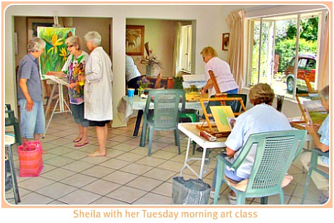 Sheila's Art classes