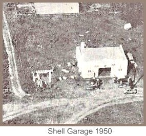 Shell Garage in 1950
