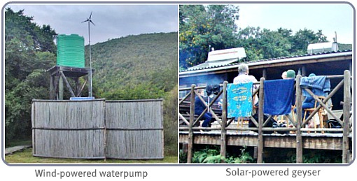 Water & power at Whiskey Creek