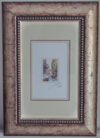 Framing is part of art
