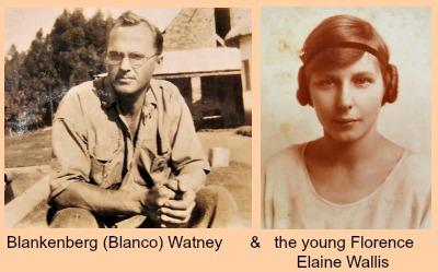 Elaine and Blankenburg Watney