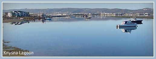 Peaceful morning on Knysna Lagoon
