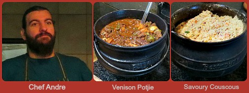 Andre and his Venison Potjie