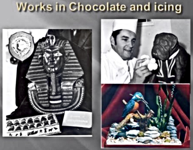 Colin Capon's Chocolate and Icing Work