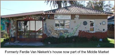 Ferdie Van Niekerk's house