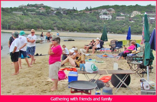 Xmas gathering on Monkey Beach