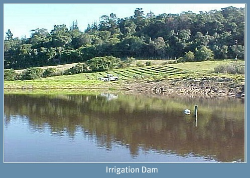 Downunder's important irrigation Dam