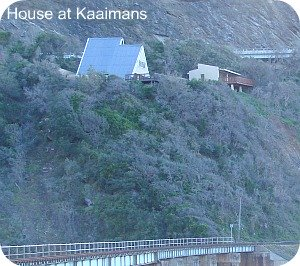 House at Kaaimans damaged by its foundation shifting after days of heavy rain