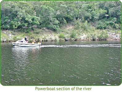 Keurbooms powerboat section