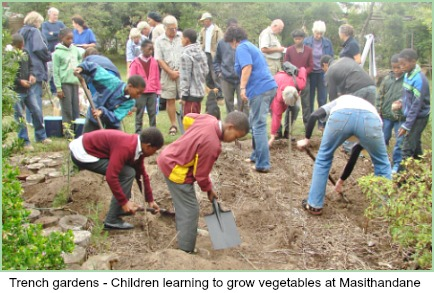 Masithandane Trench Garden Project