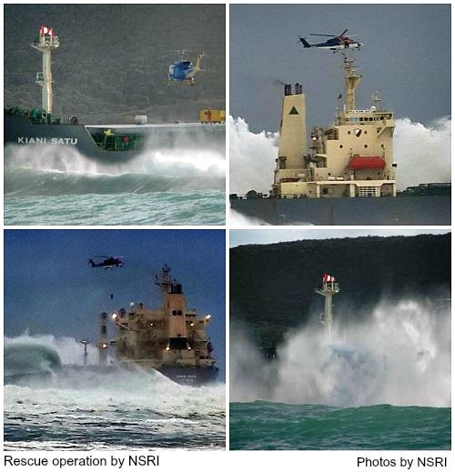 Dramatic NSRI rescue scenes