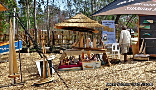 Outdoor Stand at the Timber Festival