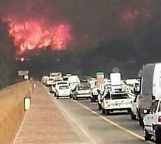 Sedgefield Knysna Wildfires