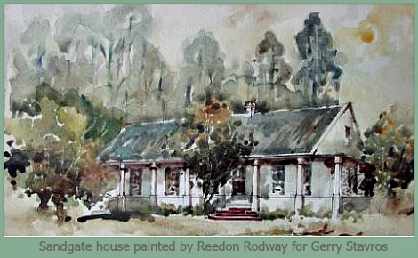 Reedon Rodway's painting of Sandgate House