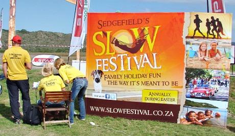 Slow Festival time