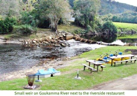Goukamma River weir