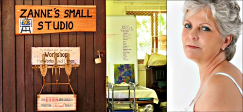Zanne's Small Studio in Sedgefield